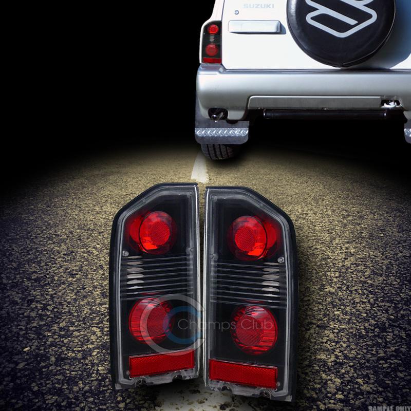 black altezza tail lights rear brake lamps 88 98 suzuki. Black Bedroom Furniture Sets. Home Design Ideas