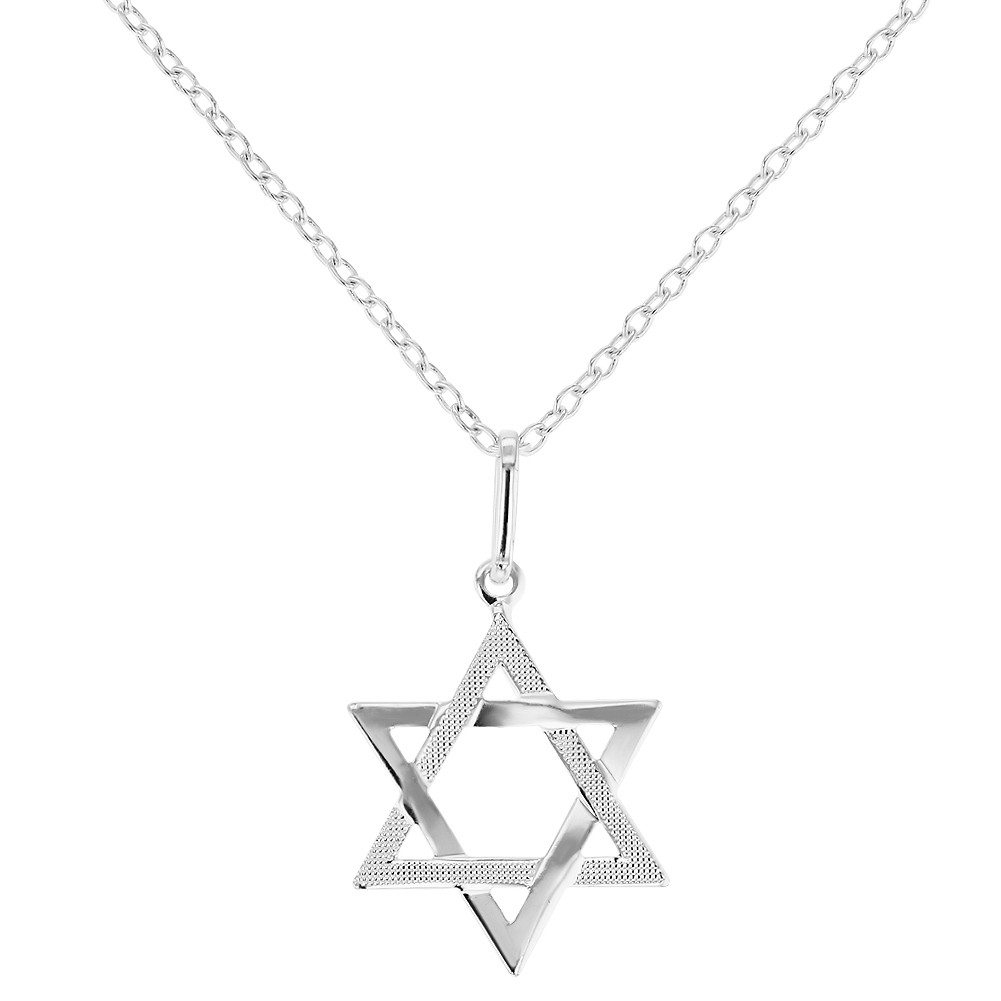 Small Star of David Necklace