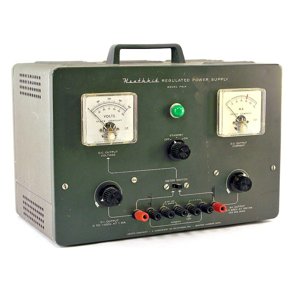 Heathkit Regulated Power Supply Unit Model PS 4