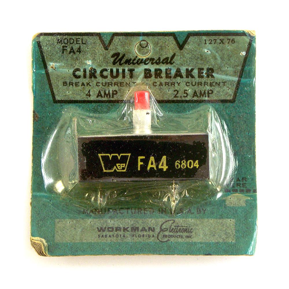 FA5 Workman Electronic Universal Circuit Breaker FA1,FA2,FA3,FA4.5