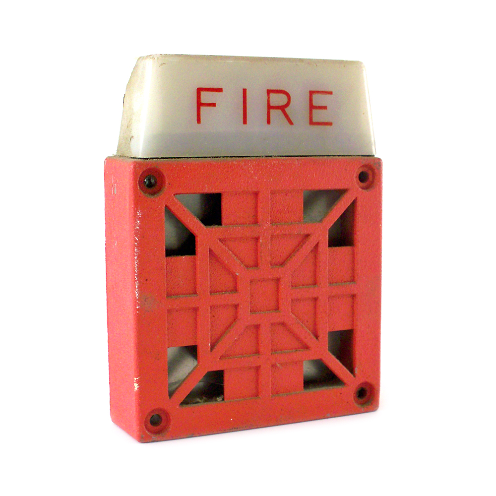 Fire Alarm Wheelock 117853 Strobe Speaker | eBay  |Wheelock Fire Alarm Horn Strobe