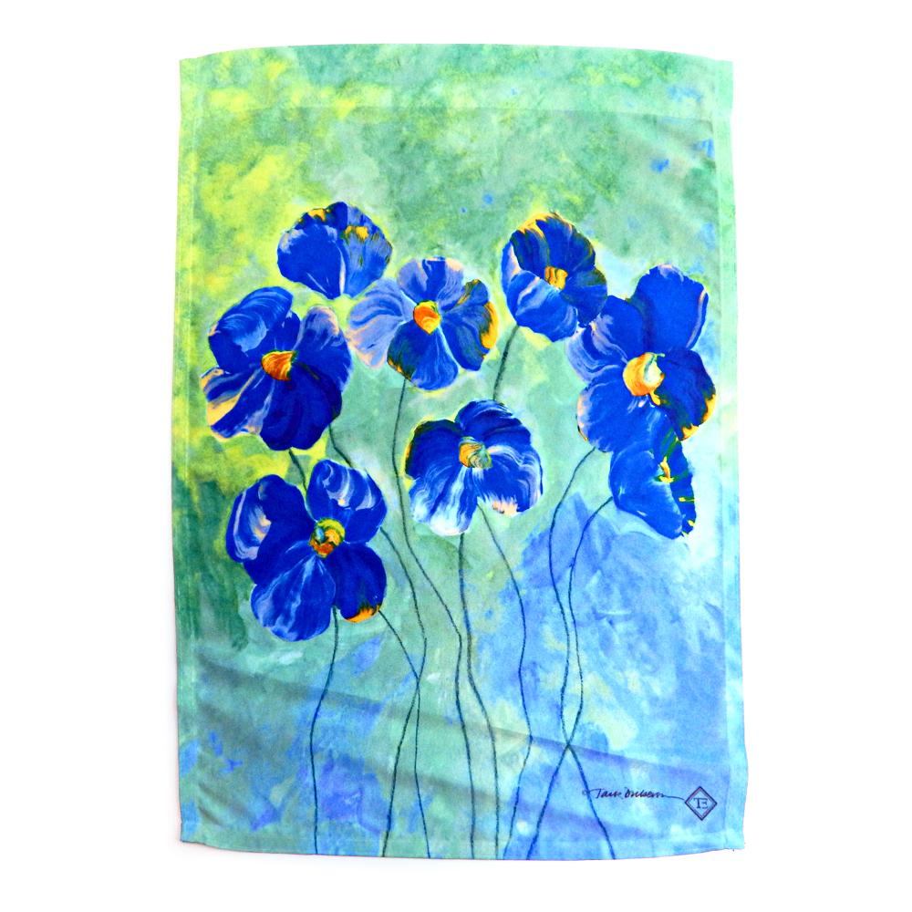 "Toland Standard Color Art Flag Weather Proof 28"" x 40"" Tulip Vase T5063"