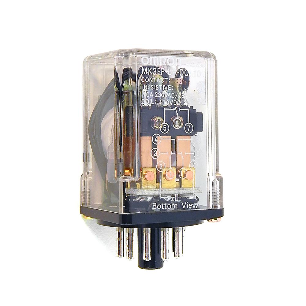 Omron MK2EP-UA-DC110 Relay 10A 230VAC//28VDC Coil 110VAC