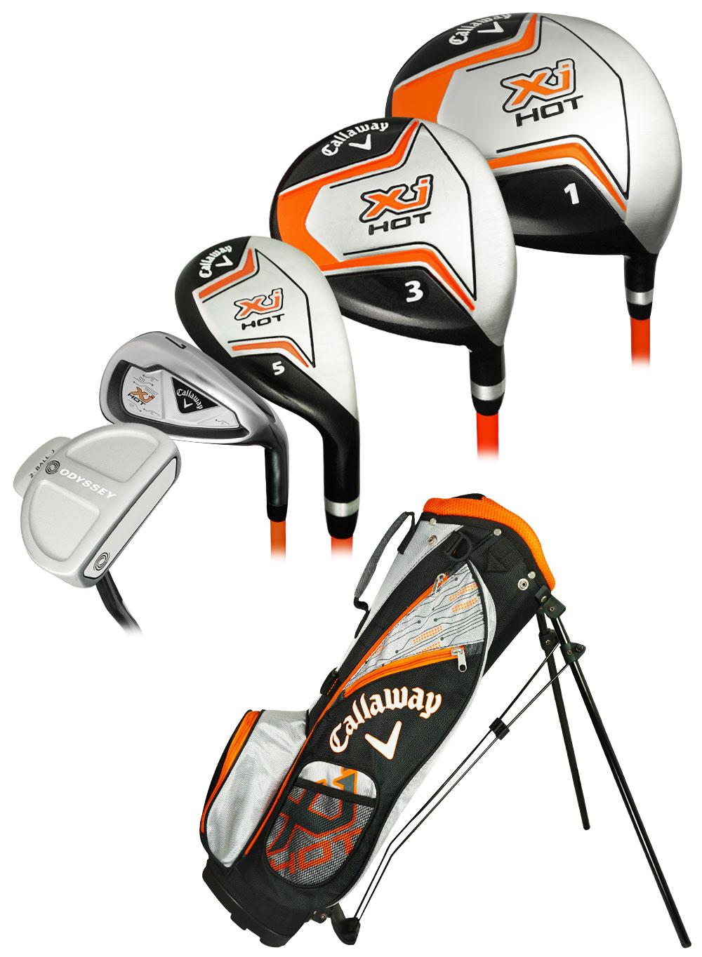 Callaway Golf XJ Hot Junior Boys 8-Piece Set Ages 5-8 Left
