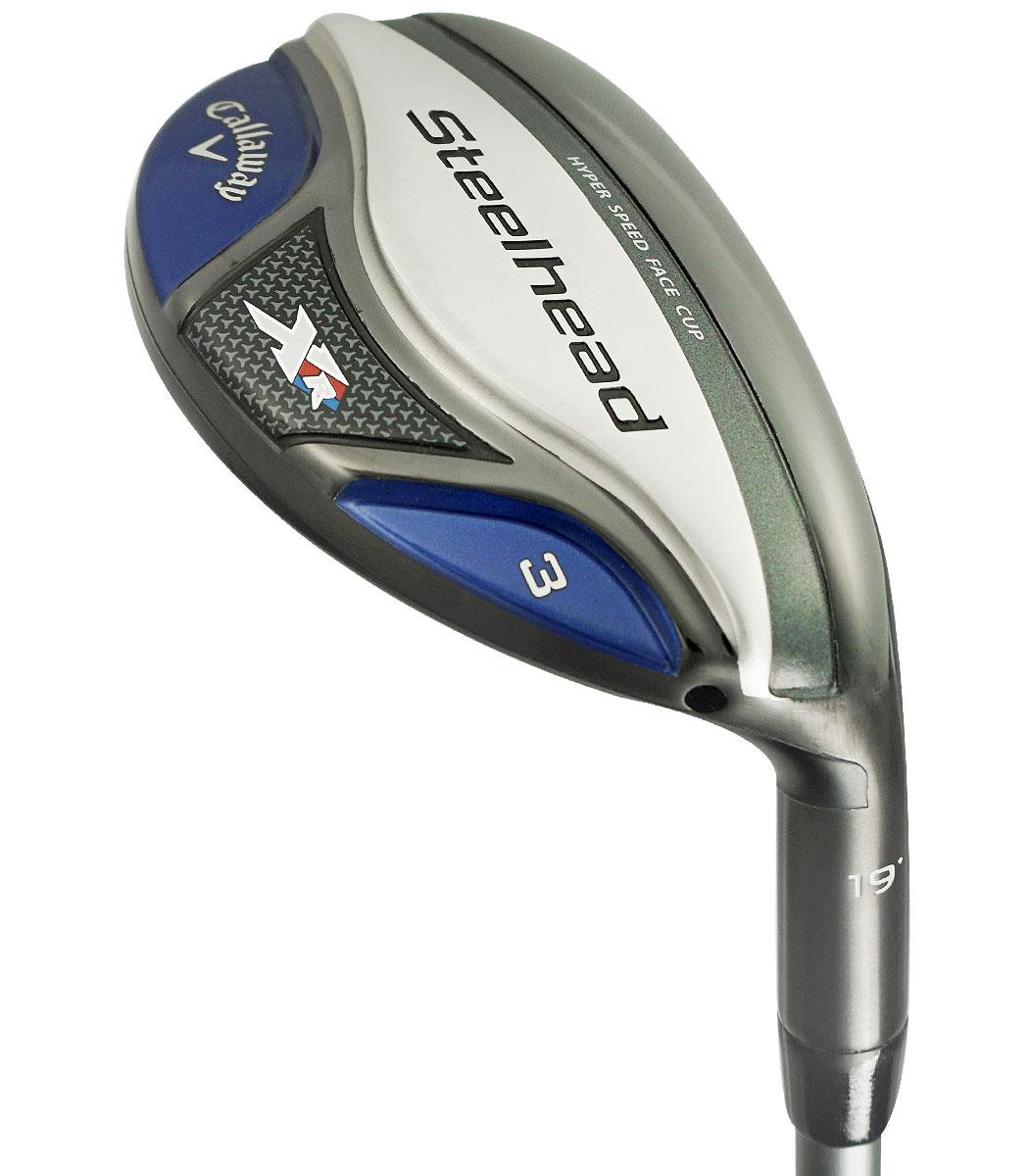 Callaway Golf LH Steelhead XR Hybrid 22* #4 Stiff Flex