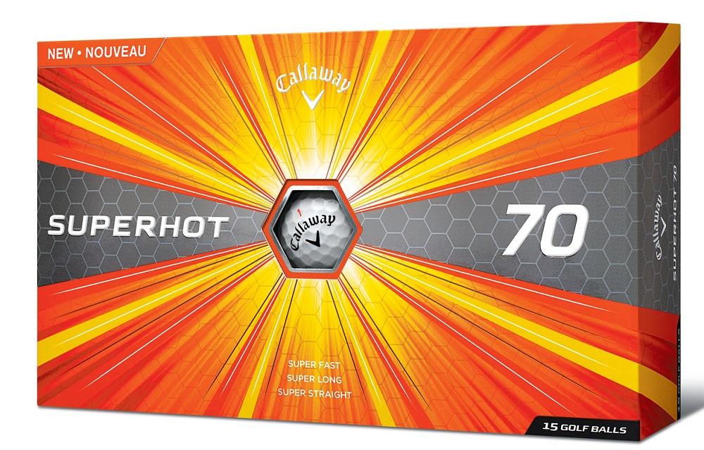 Callaway 2017 SuperHot 70 Golf Balls White 15-Ball Pack