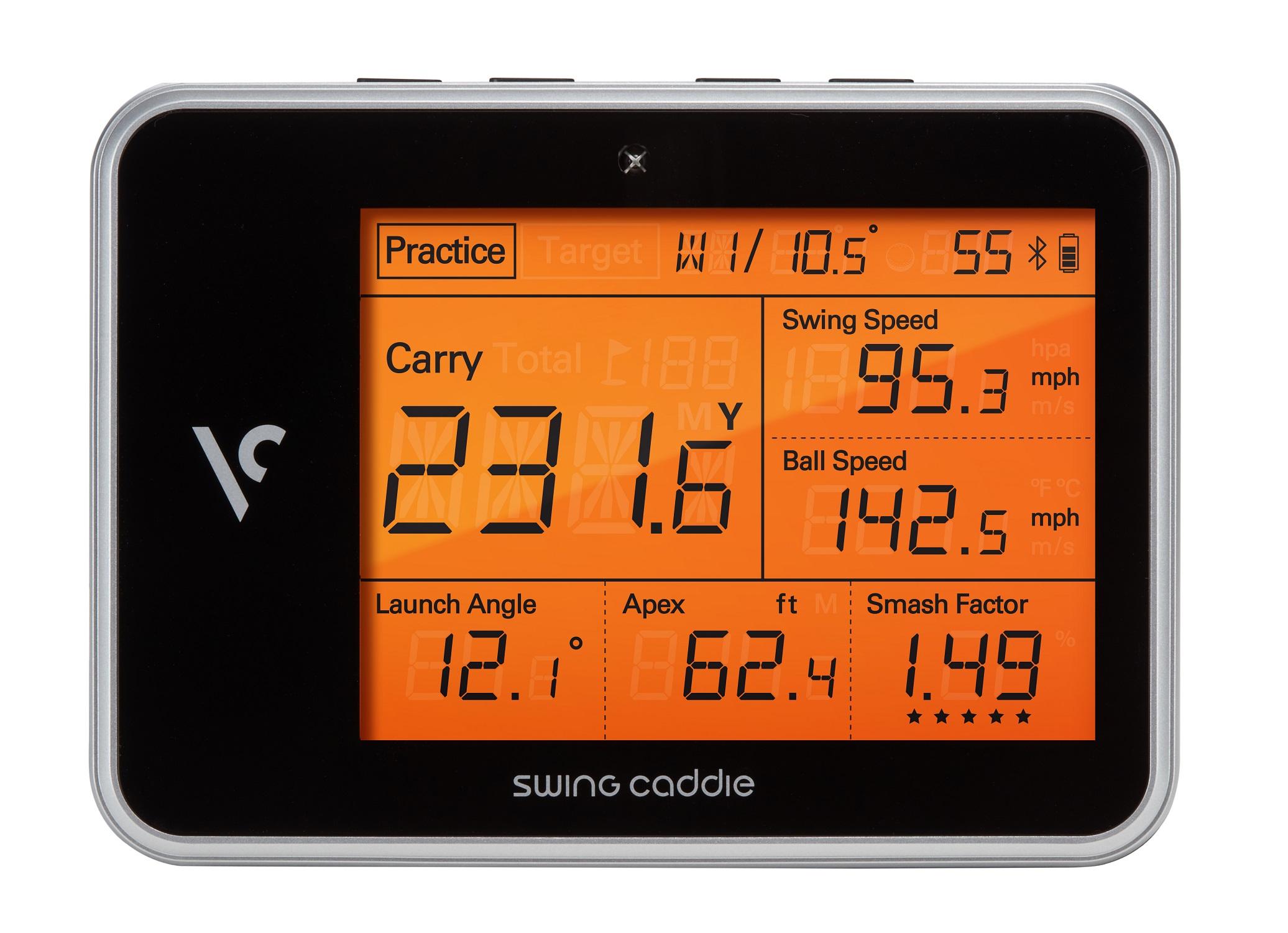 Voice Caddie Swing Caddie Sc100 Portable Launch Monitor