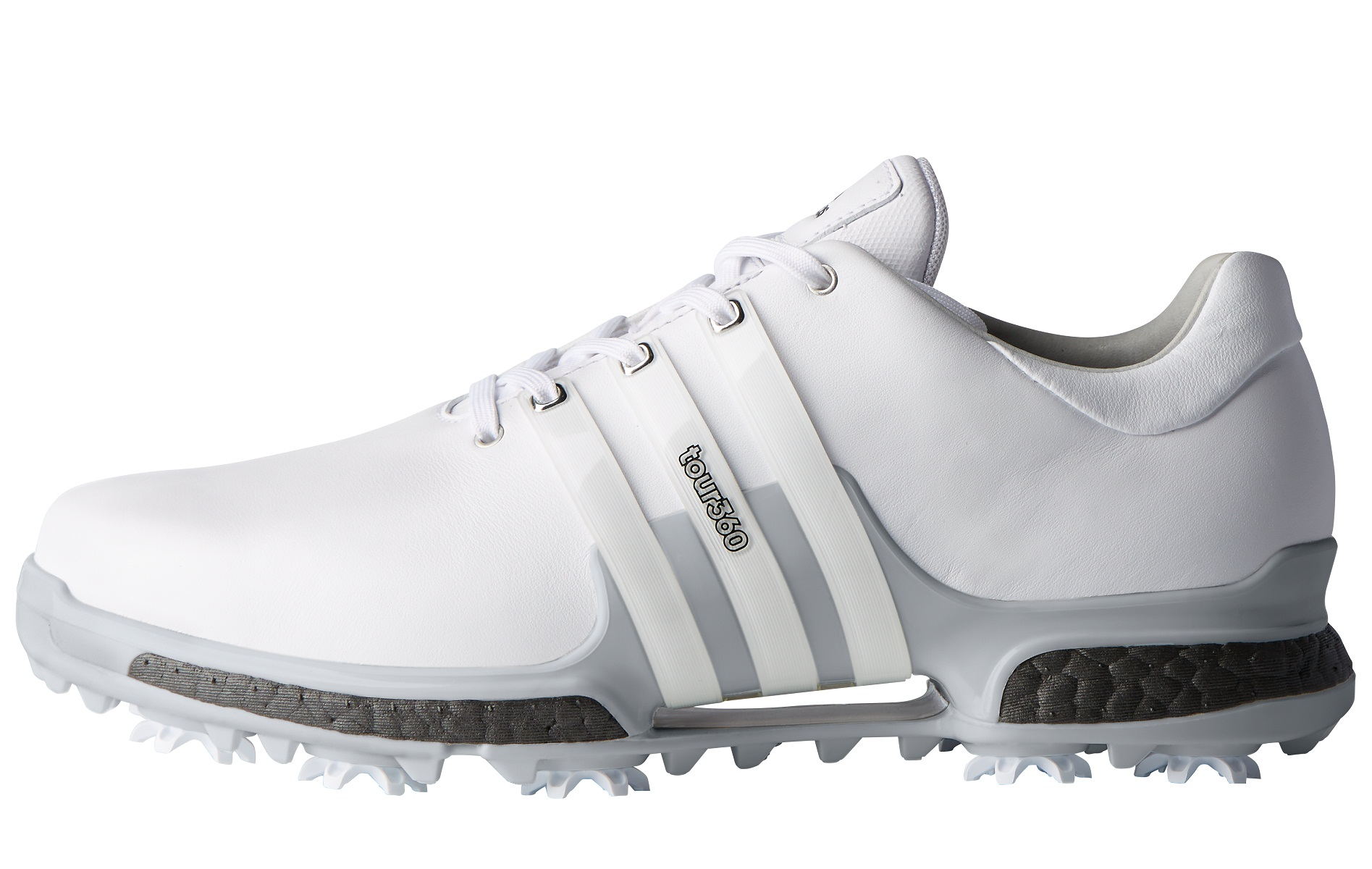 sports shoes 153df cddfc Adidas Tour360 Boost 2.0 White Shoes   RockBottomGolf.com