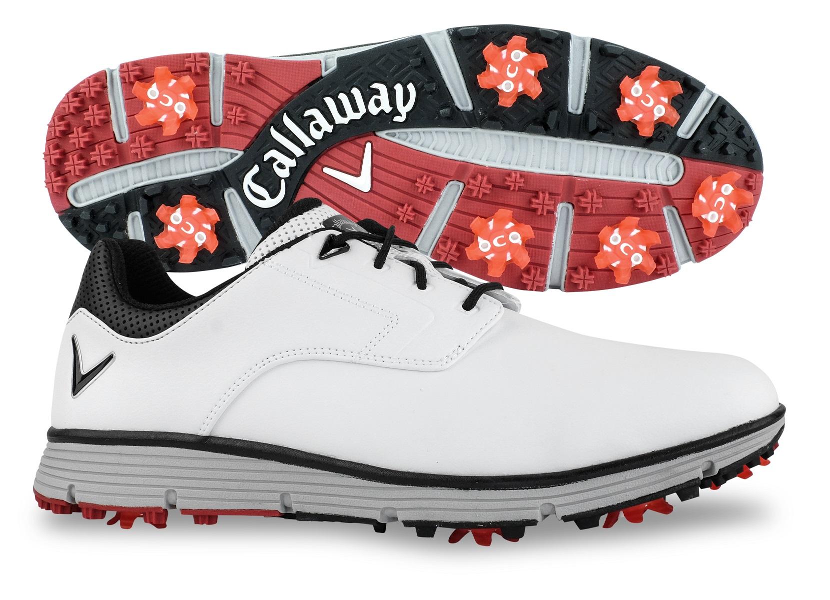 New Callaway Golf- La Jolla Shoes White Size 11.5 Medium CG2