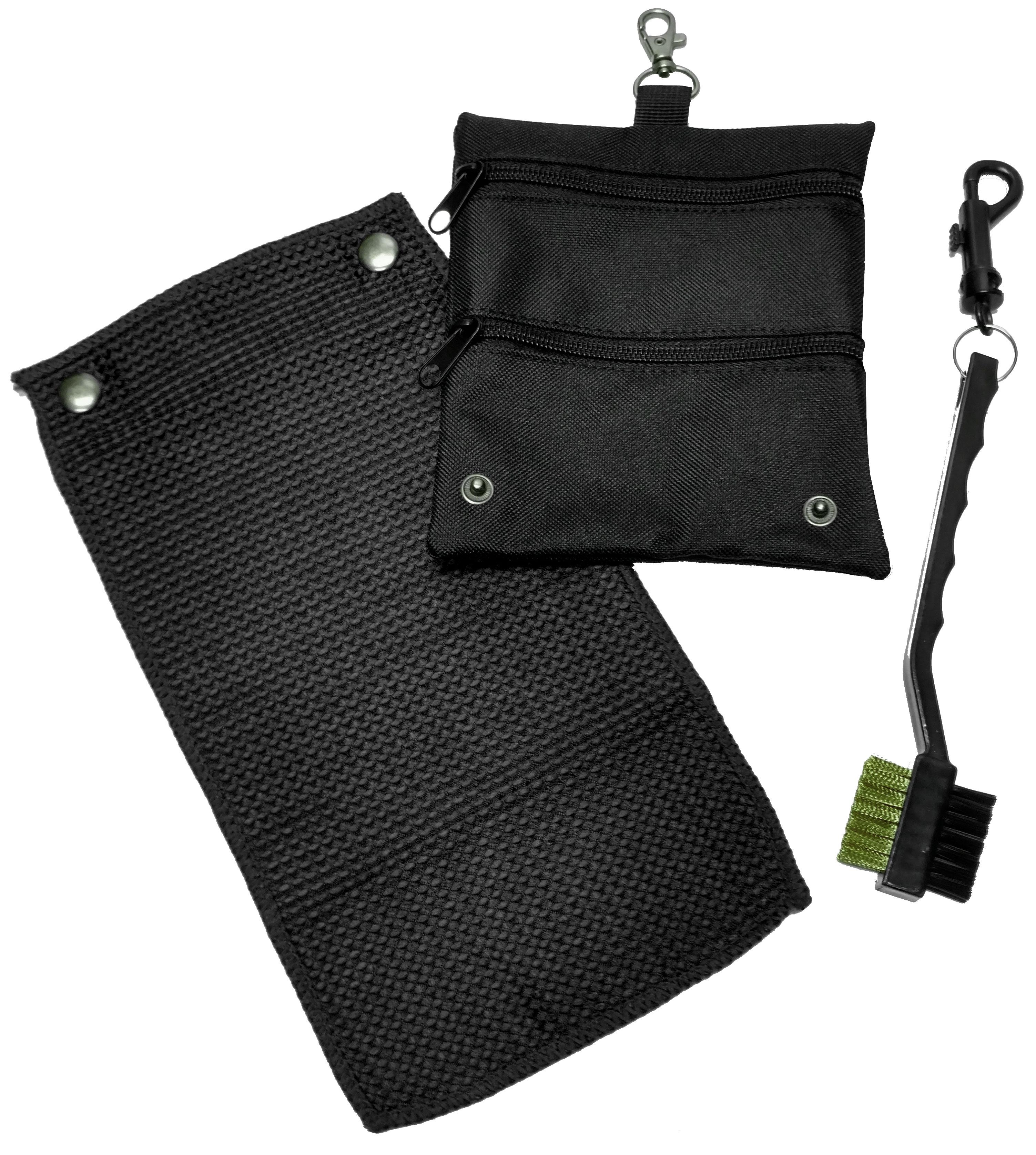 Caddy Daddy Golf Golf Accessory Bag Towel Brush Set image