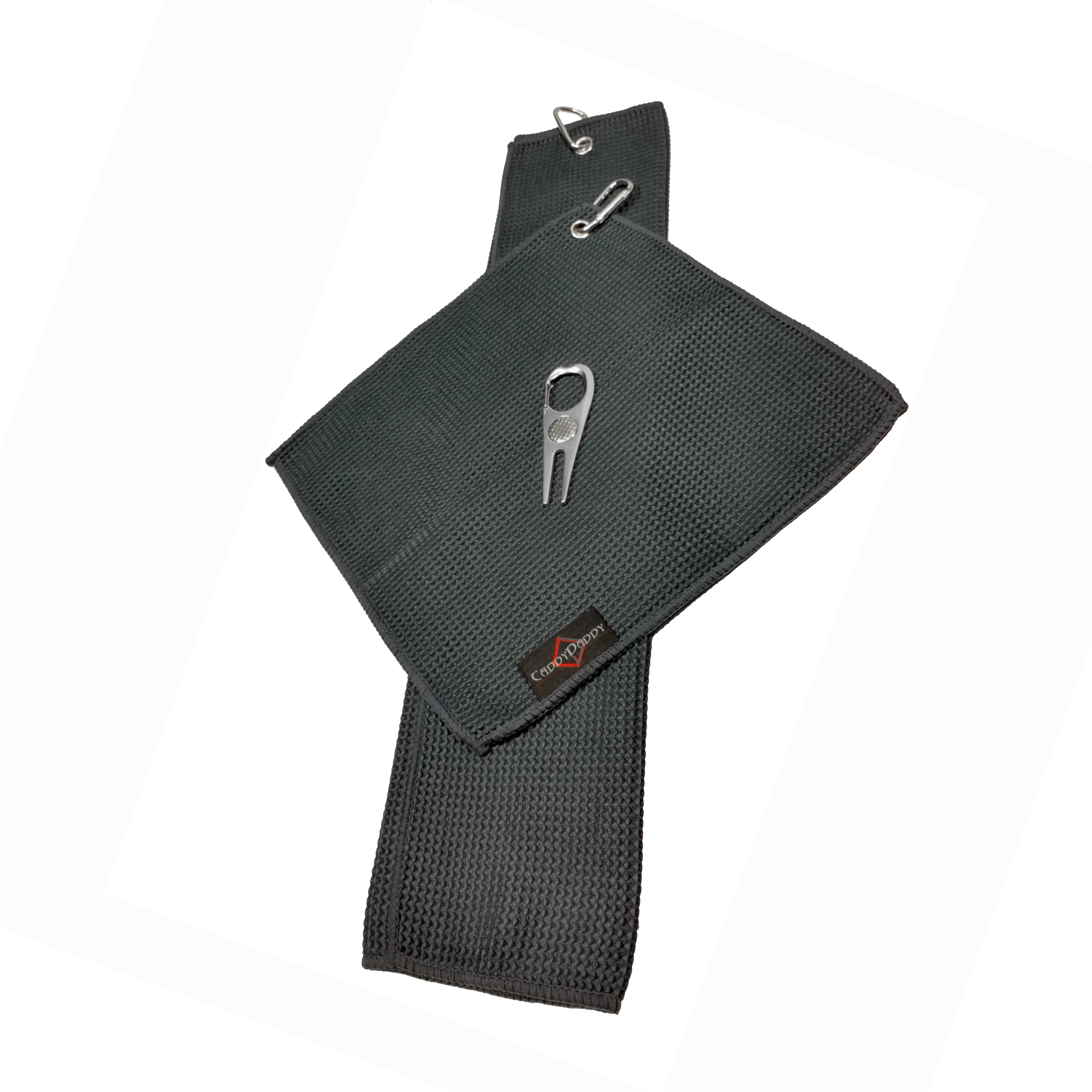Caddy Daddy Golf Microfiber Towel Set And Divot Tool image