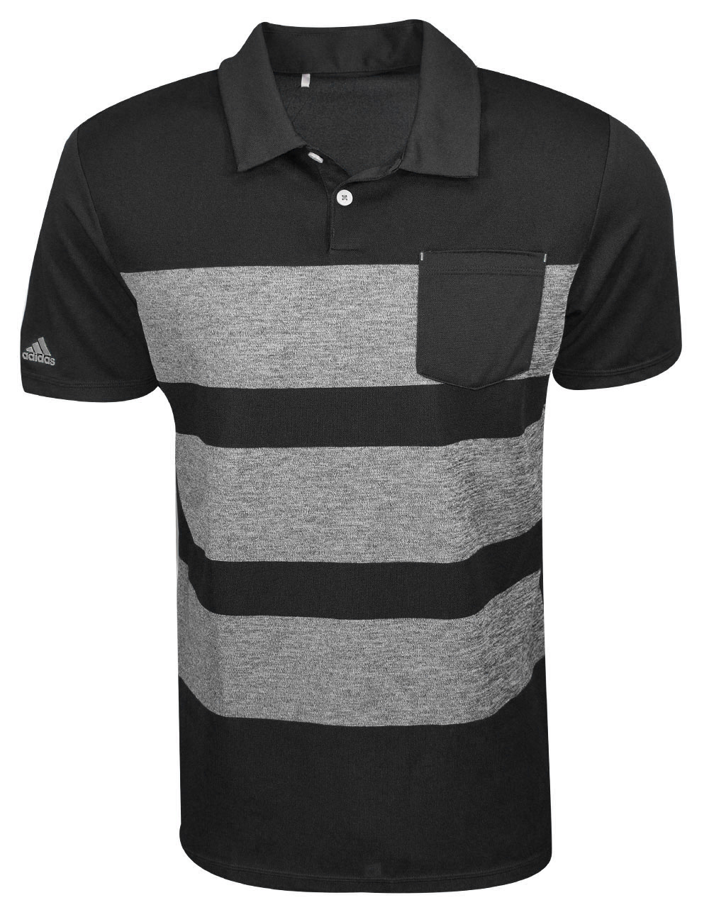 74572a97 Adidas Golf 3-Stripes Mapped Polo (Closeout) | RockBottomGolf.com