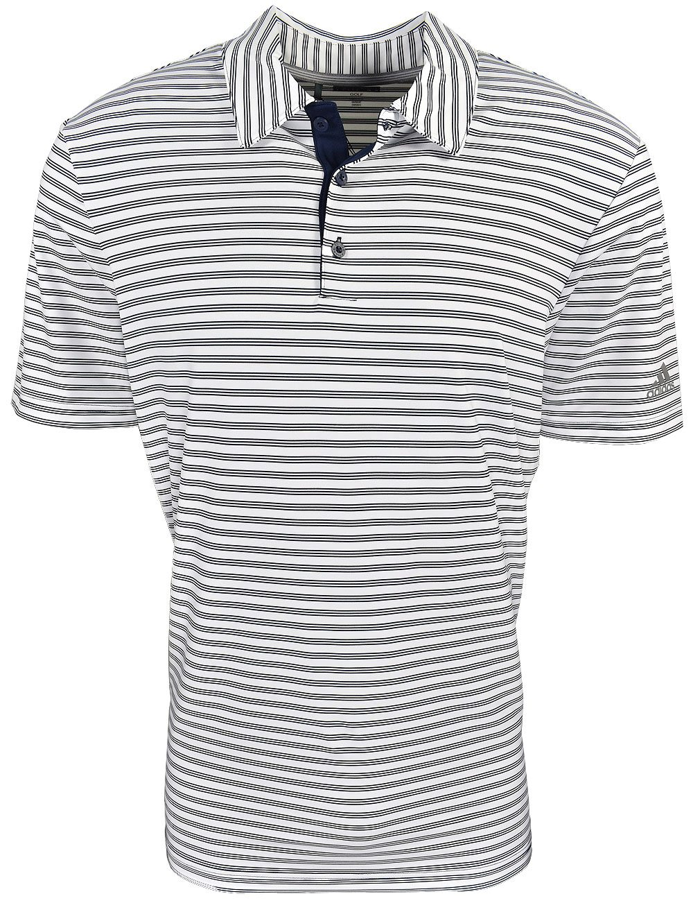 6342ed472b Adidas Golf Ultimate365 2-Color Stripe Polo | RockBottomGolf.com