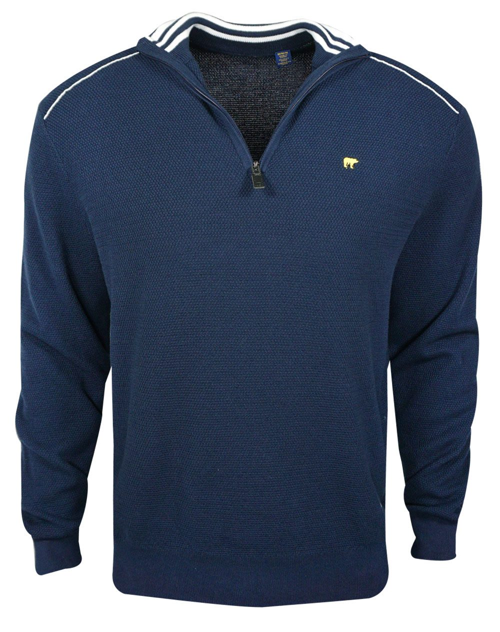 Jack Nicklaus Golf 1 4 Zip Texture Sweater image