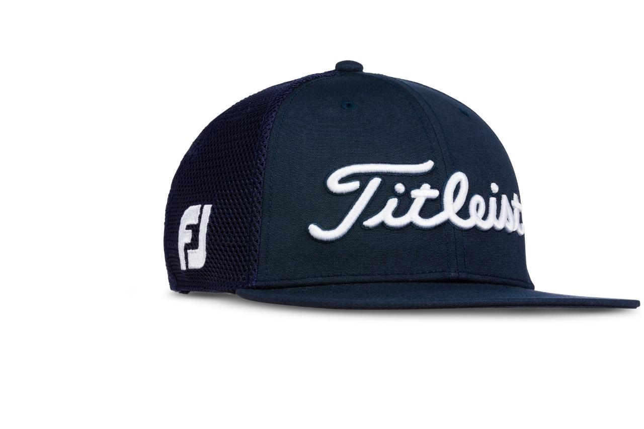 72fb312056c Titleist Golf- Tour Flat Bill Mesh Cap Trend Collection