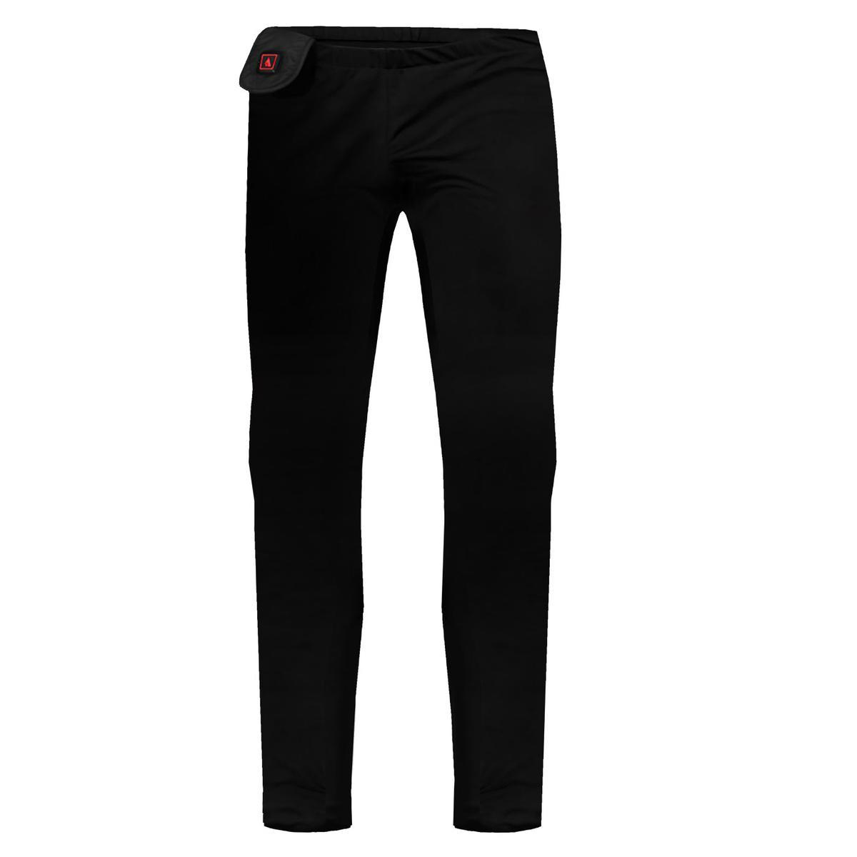 The ActionHeat battery heated base layers pants are revolutionary in the world of heated clothing. Using the patented 5V signal technology, it allows for any 5V battery to be used with the ActionHeat base layers. This allows for unlimited battery options