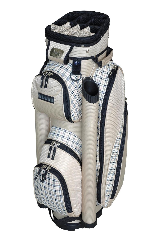 New Rj Sports Golf La S Sapphire Cart Bag Sand Plaid