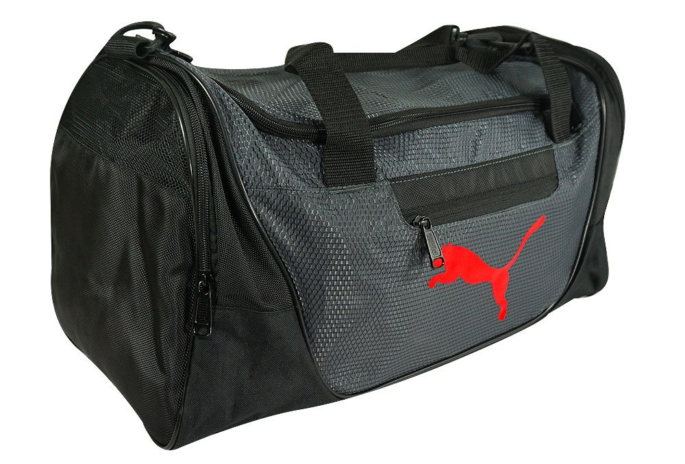 "Puma- Contender 21"" Duffel Bag Black/Red"
