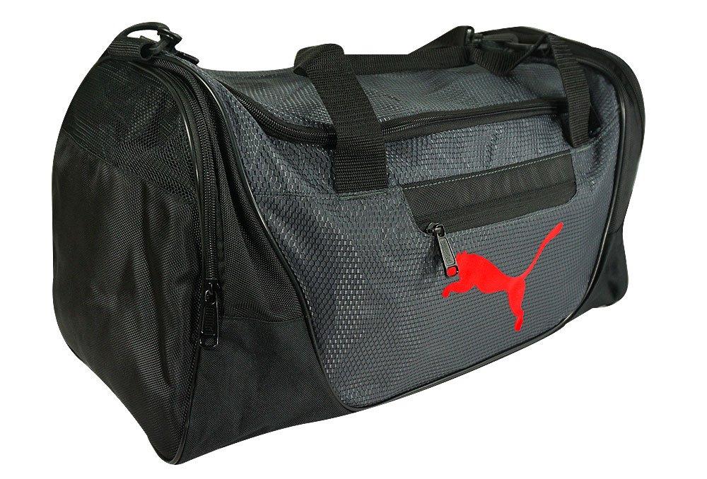 "Puma- Contender 21"" Duffel Bag Black/Red"