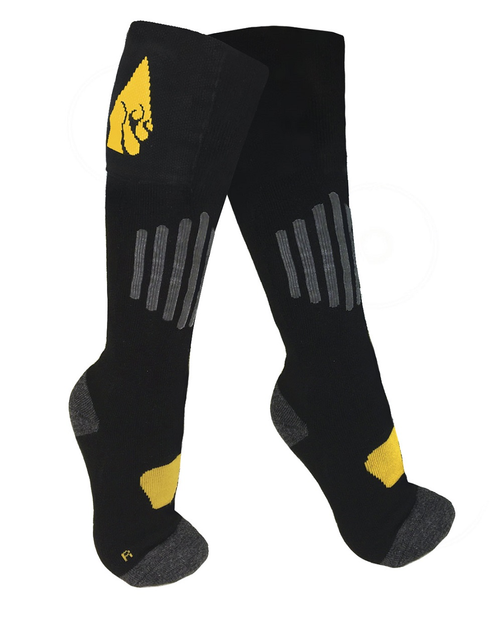 The ActionHeat battery heated socks are the perfect blend of quality and comfort. ActionHeat battery heated apparel utilizes innovative technology designed to warm the core body temperature. These revolutionary garments feature built-in heating panels
