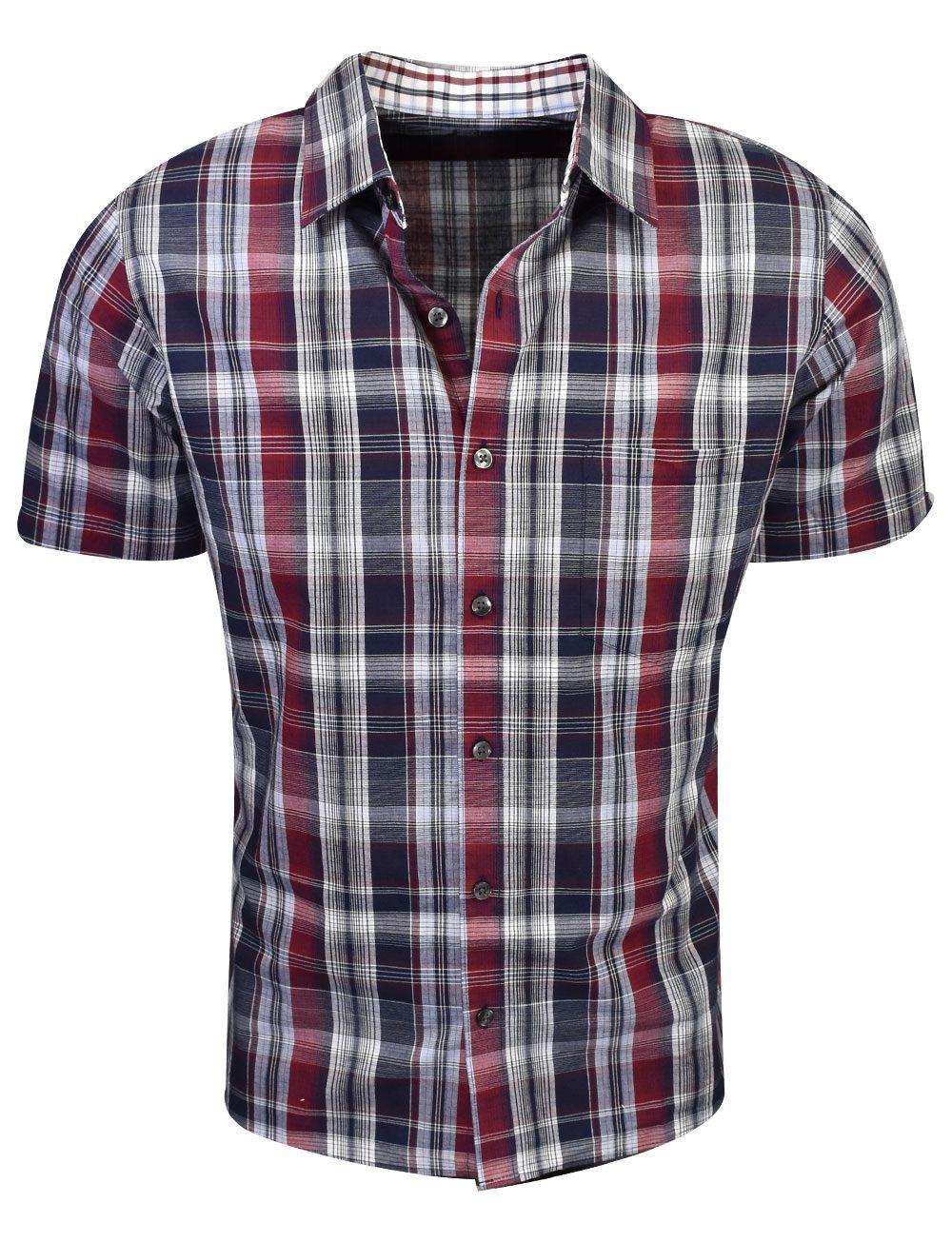 Van Heusen Short Sleeve Never Tuck Woven Shirt Rockbottomgolf