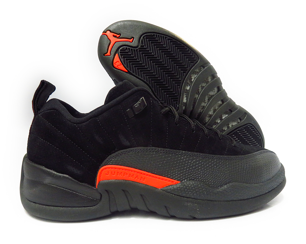 104029fc5e7 4492e 85bb9  spain nike air jordan retro xii 12 low black max orange men  shoes 308317 003 856df