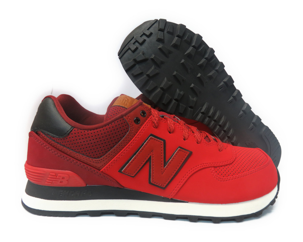 NEW BALANCE 574 Classic Traditionnels Red ML574GPE