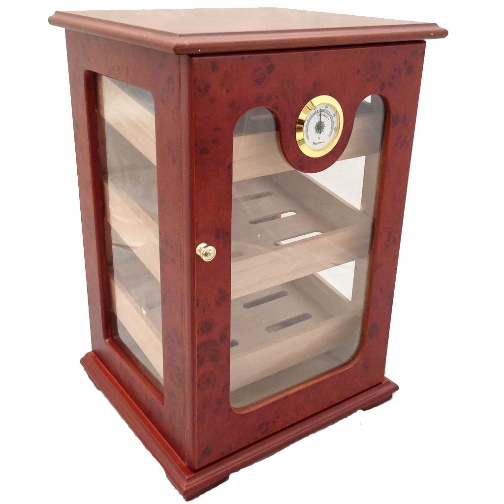 CIGAR HUMIDOR 150 ct UNIQUE - GREAT DISPLAY SHOW BOX ...