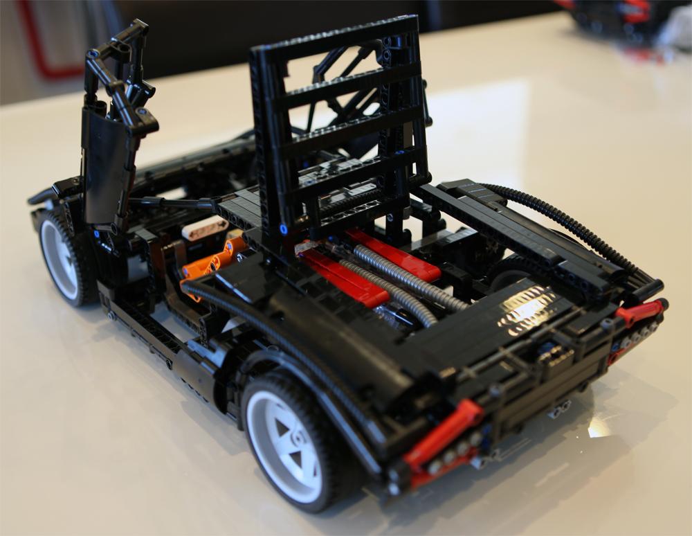 lego custom technic lamborghini countach lp400 super car. Black Bedroom Furniture Sets. Home Design Ideas