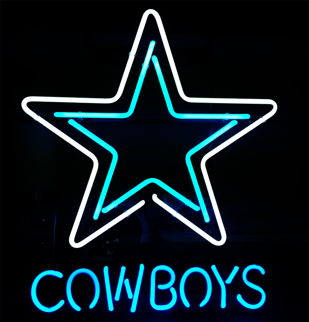 NEW DALLAS COWBOYS NFL FOOTBALL NEON LIGHT BEER PUB BAR