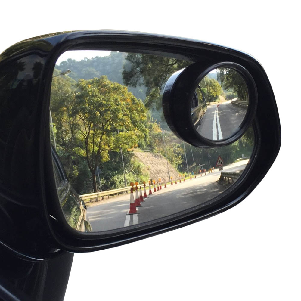 2 Pack Round 2 Quot Convex Stick On Rear View Blind Spot