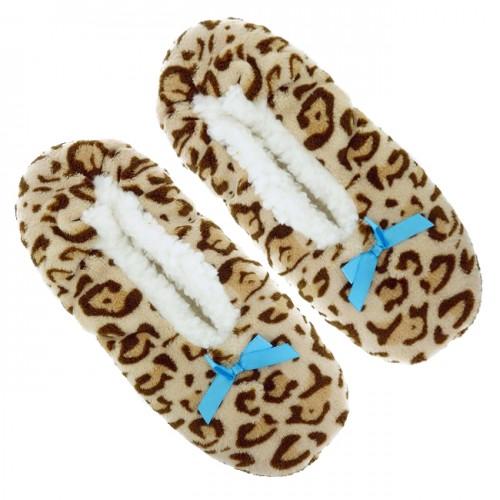 Ladies Nicole Miller Plush Slipper Socks with Non-Skid Bottoms | eBay