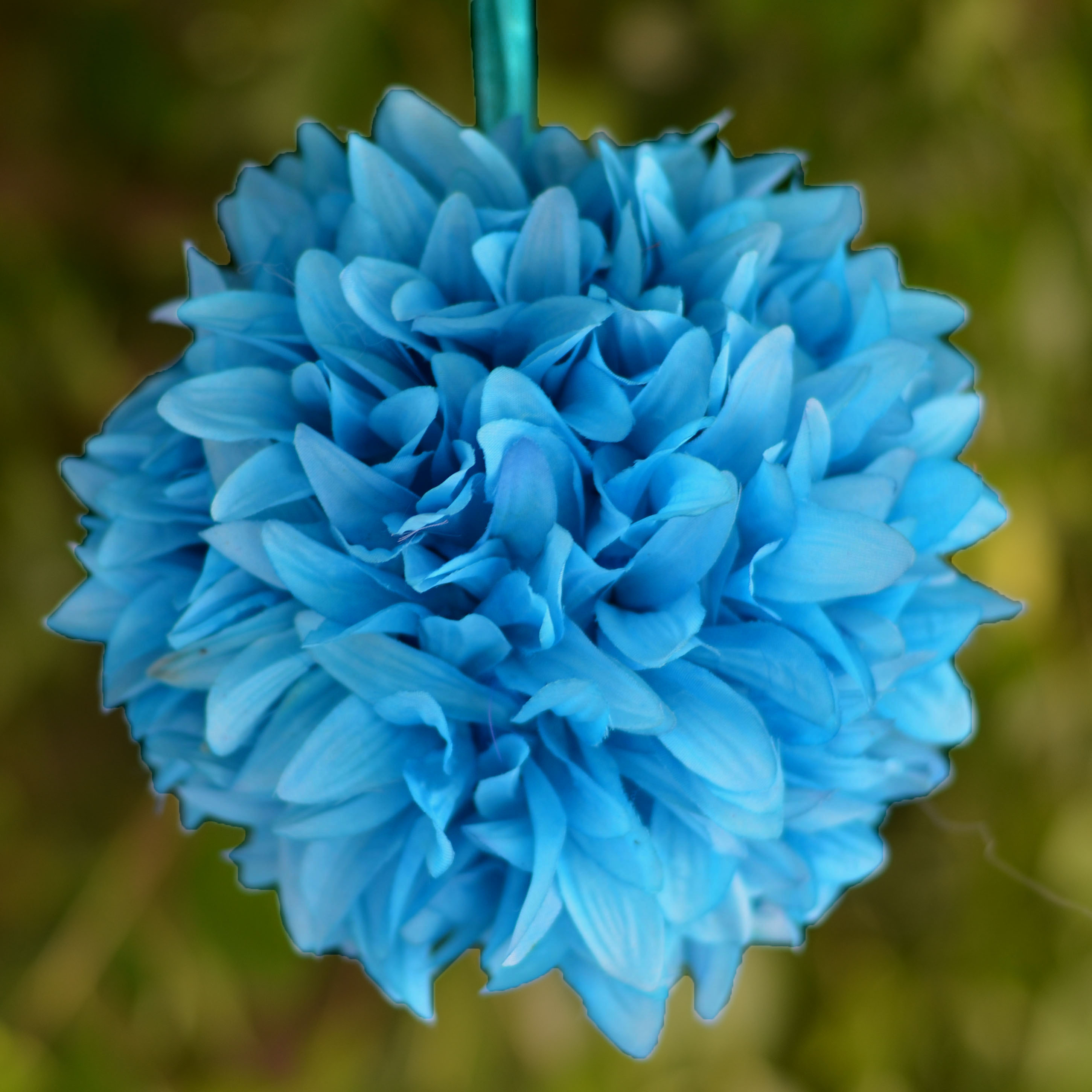 4 Pcs Dahlia Silk Flower Balls For Wedding Party Home Decorations