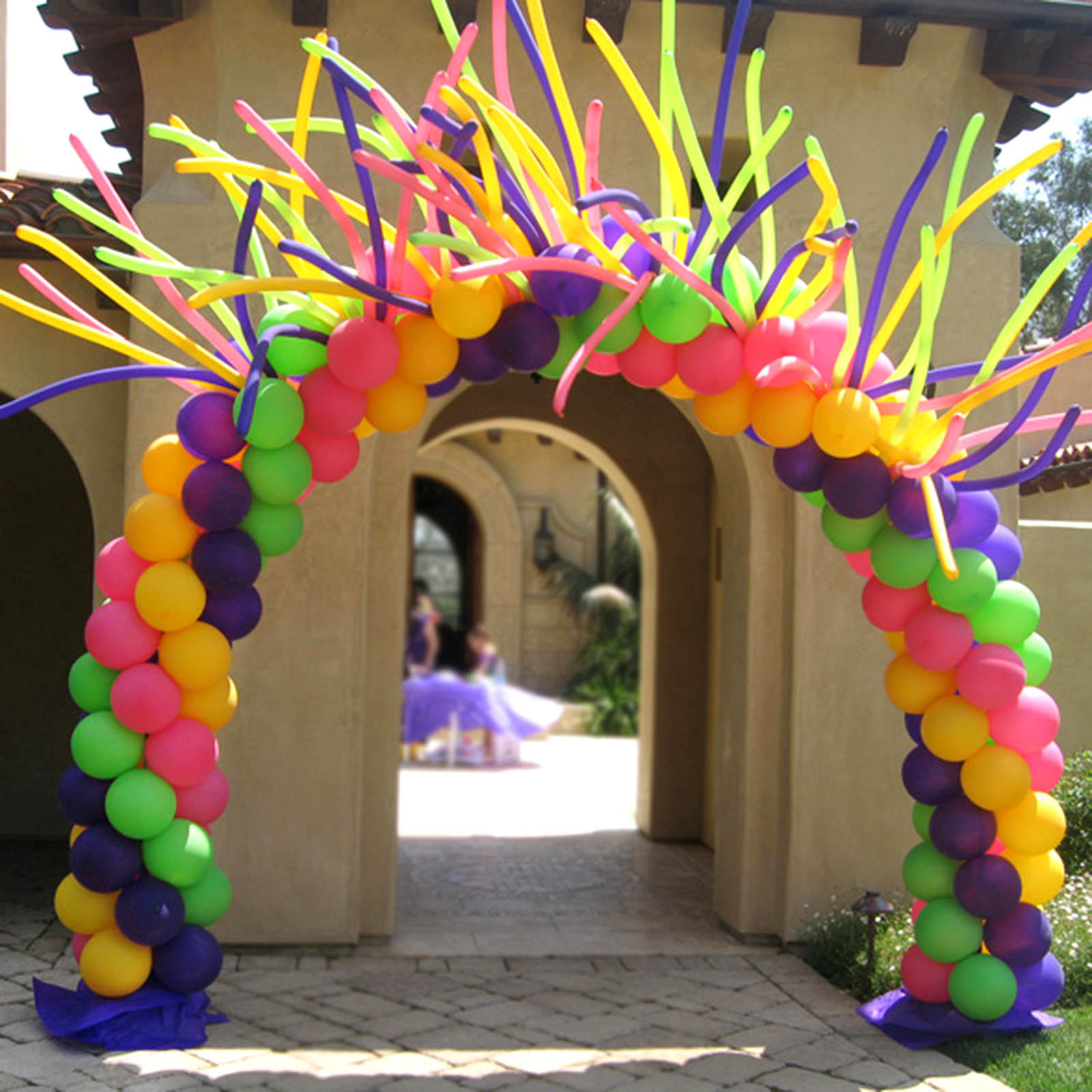 Balloon arch stand kit for wedding event party home for Balloon arch decoration kit