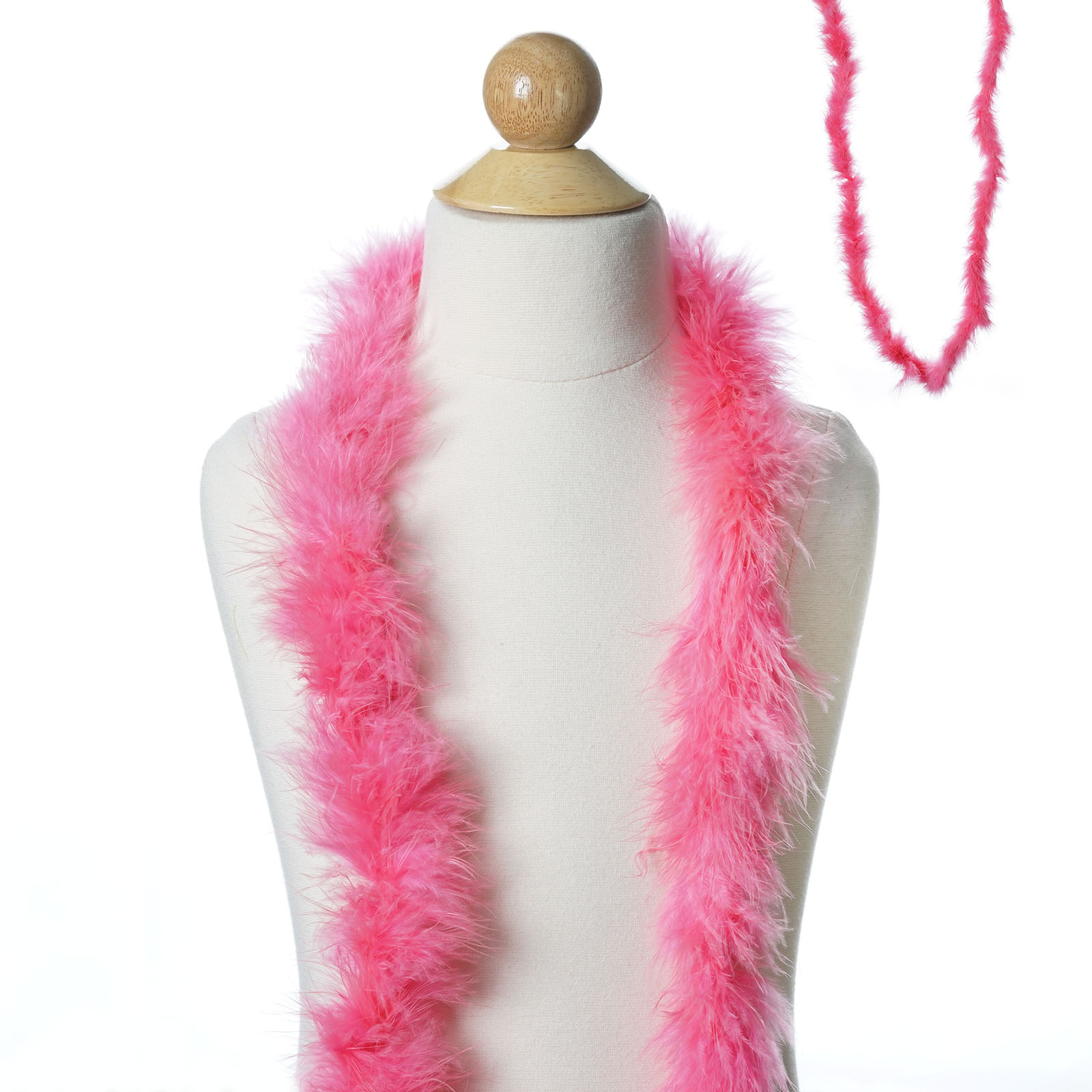 "DARK FUCHSIA 2 Yards; Dress//Bridal//Art//Costume 72/"" MARABOU FEATHER BOA"