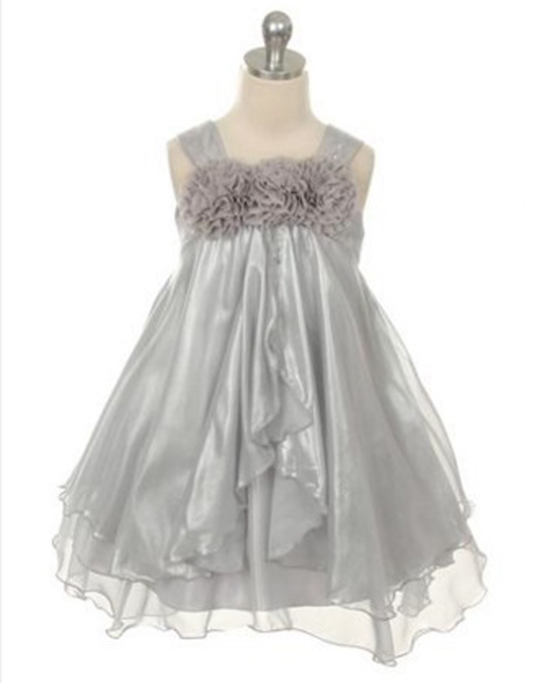 Shimmery Chiffon Flower Girl Dress Wedding Party Dress Special