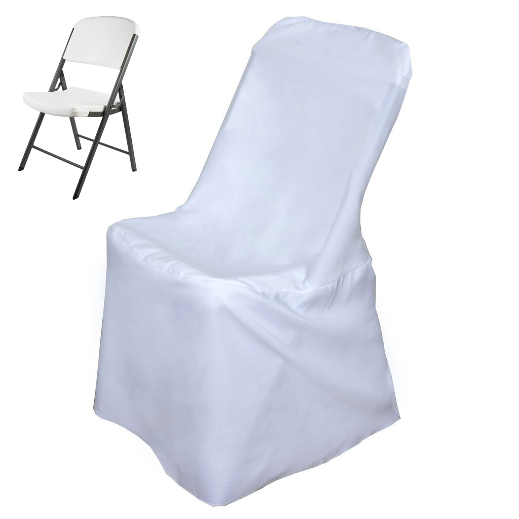 Outstanding Details About Lifetime Folding Chair Cover Dinning Chair Slipcover For Wedding Party Event Gmtry Best Dining Table And Chair Ideas Images Gmtryco