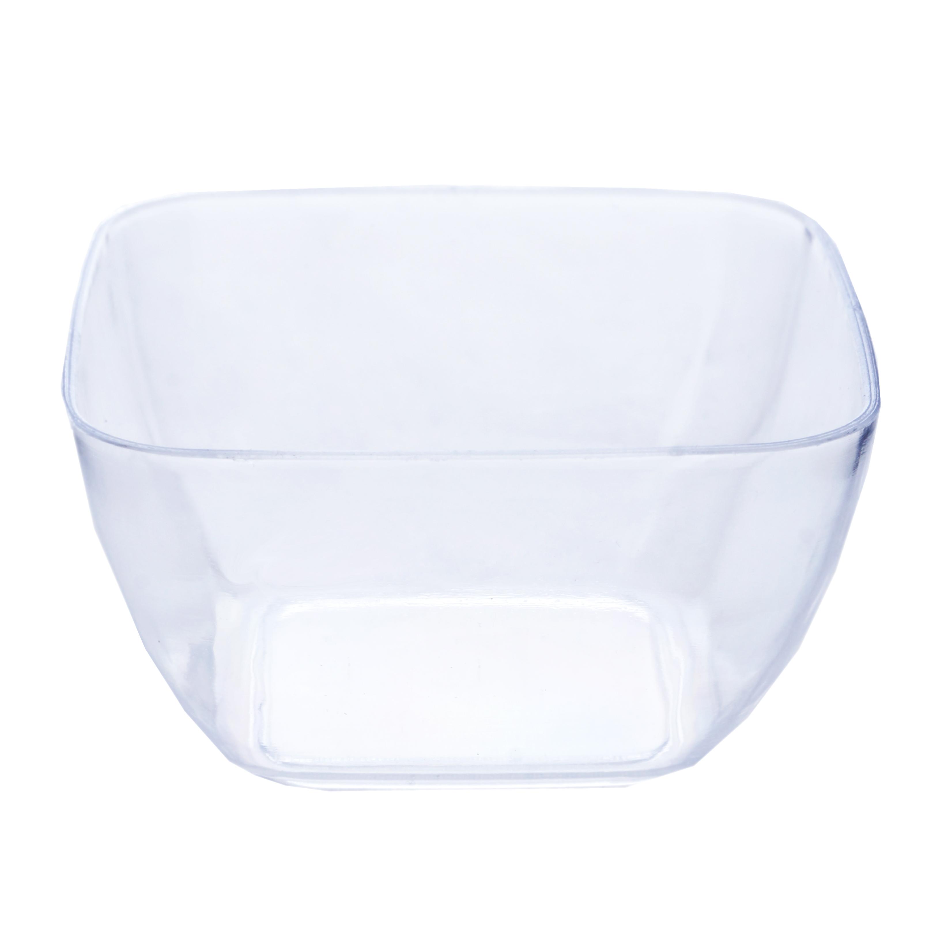 90 Pcs 2oz Mini Disposable Plastic Dessert Bowls For Wedding Party Decoration