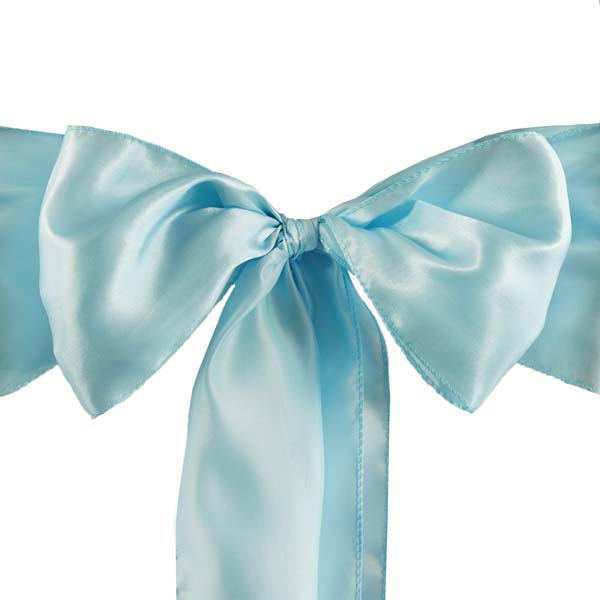25pcs-SATIN-Chair-Sashes-Tie-Bows-Catering-Wedding-Party-Decorations-6-x106-034 thumbnail 7