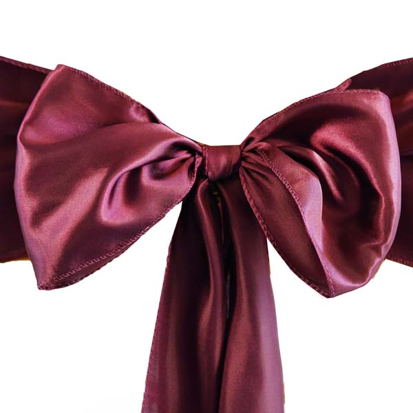 25pcs-SATIN-Chair-Sashes-Tie-Bows-Catering-Wedding-Party-Decorations-6-x106-034 thumbnail 11