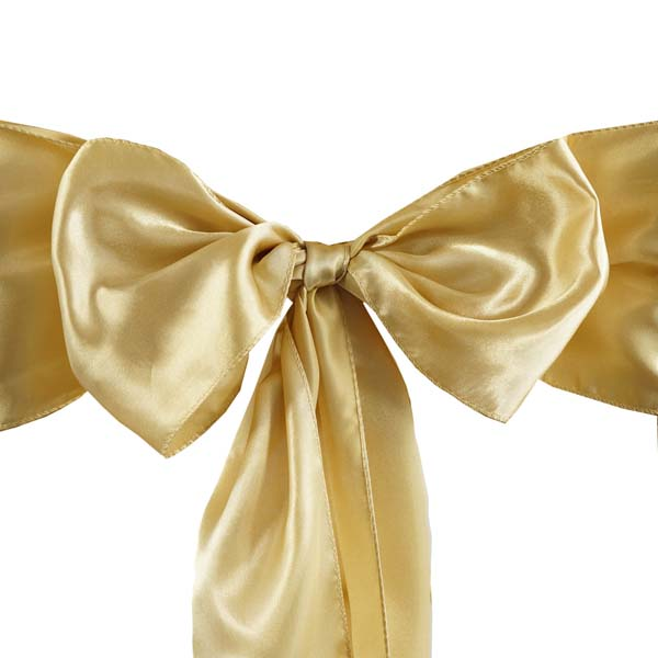 25pcs-SATIN-Chair-Sashes-Tie-Bows-Catering-Wedding-Party-Decorations-6-x106-034 thumbnail 15