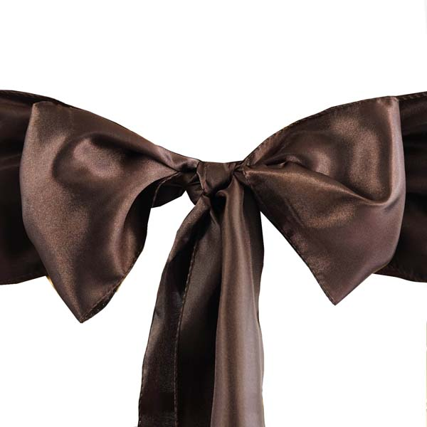 25pcs-SATIN-Chair-Sashes-Tie-Bows-Catering-Wedding-Party-Decorations-6-x106-034 thumbnail 17