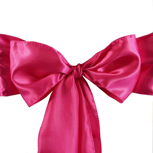 25pcs-SATIN-Chair-Sashes-Tie-Bows-Catering-Wedding-Party-Decorations-6-x106-034 thumbnail 23
