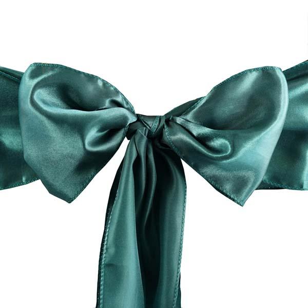25pcs-SATIN-Chair-Sashes-Tie-Bows-Catering-Wedding-Party-Decorations-6-x106-034 thumbnail 27