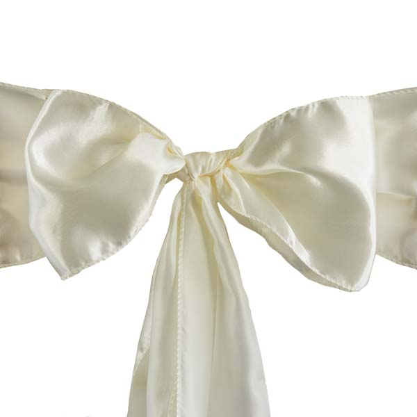 25pcs-SATIN-Chair-Sashes-Tie-Bows-Catering-Wedding-Party-Decorations-6-x106-034 thumbnail 29