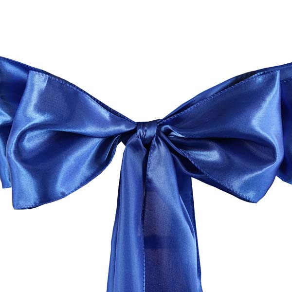 25pcs-SATIN-Chair-Sashes-Tie-Bows-Catering-Wedding-Party-Decorations-6-x106-034 thumbnail 47