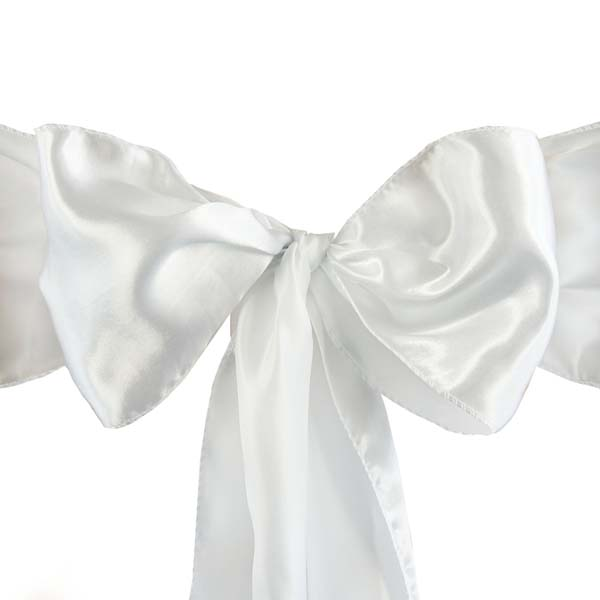 25pcs-SATIN-Chair-Sashes-Tie-Bows-Catering-Wedding-Party-Decorations-6-x106-034 thumbnail 55