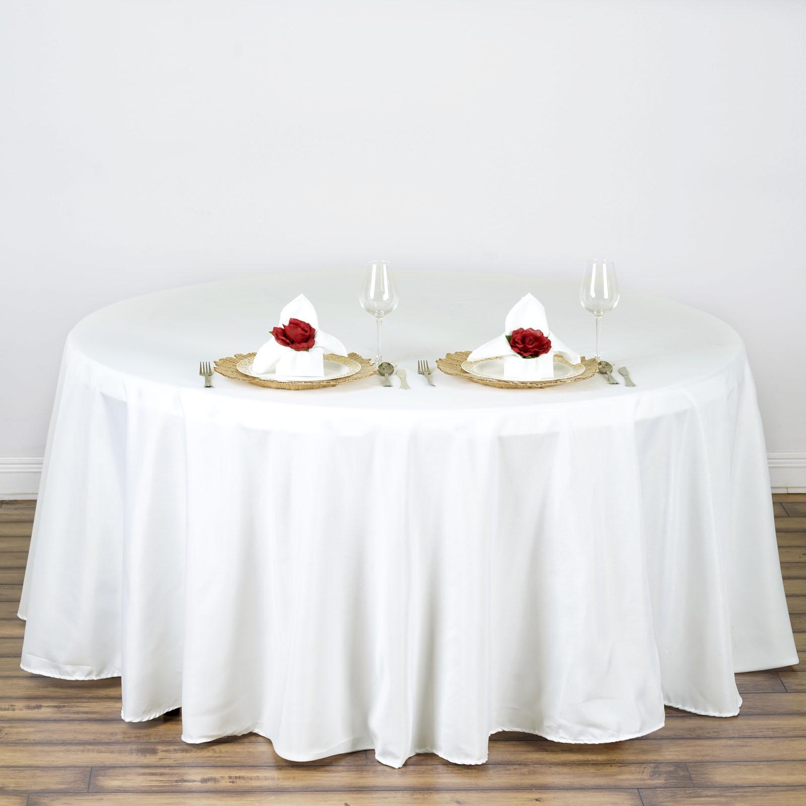Ebay Tablecloths Round