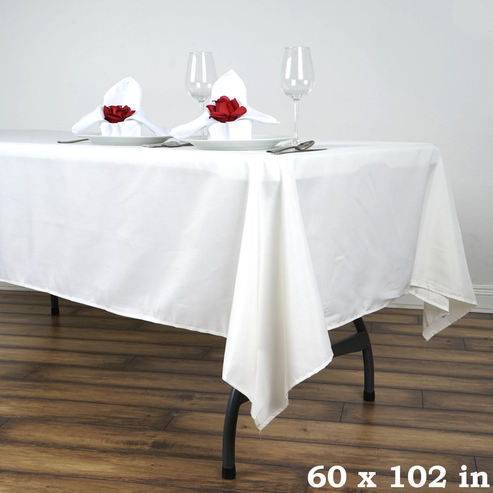 60x102 034 Polyester Rectangle Tablecloths