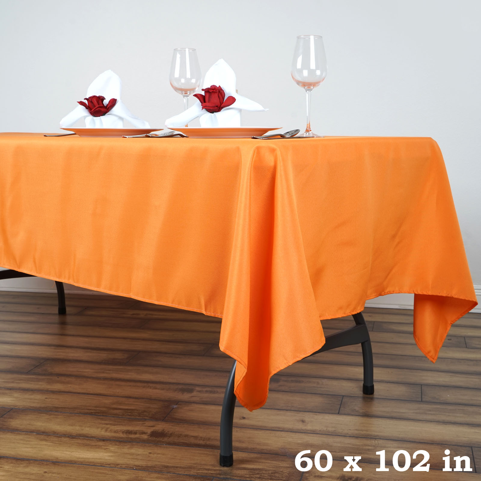 60x102 Quot Polyester Rectangle Tablecloths For Wedding Party